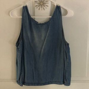 BB Dakota Jean Crop Top